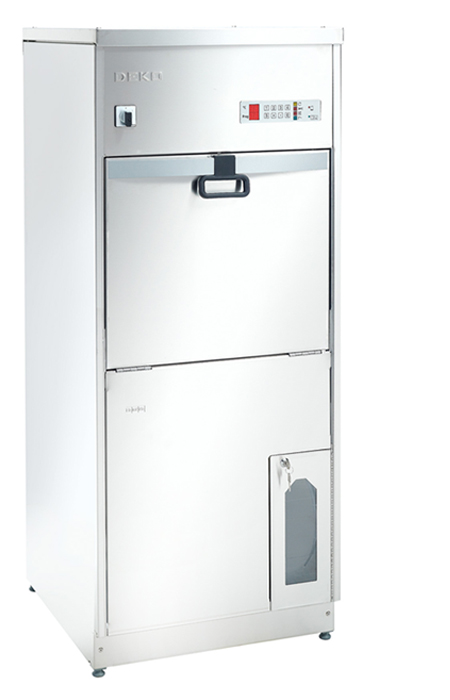 Image Of bedpan washer with door closed