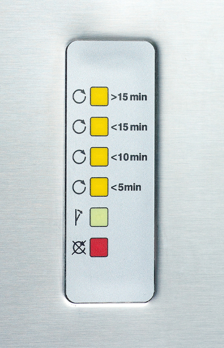Drying Cabinet - Buttons
